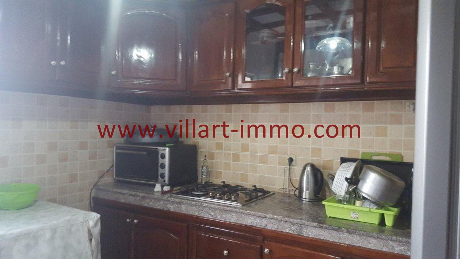 5-Vente-Appartement-Tanger-Val fleuri -Cuisine-VA484-Villart Immo