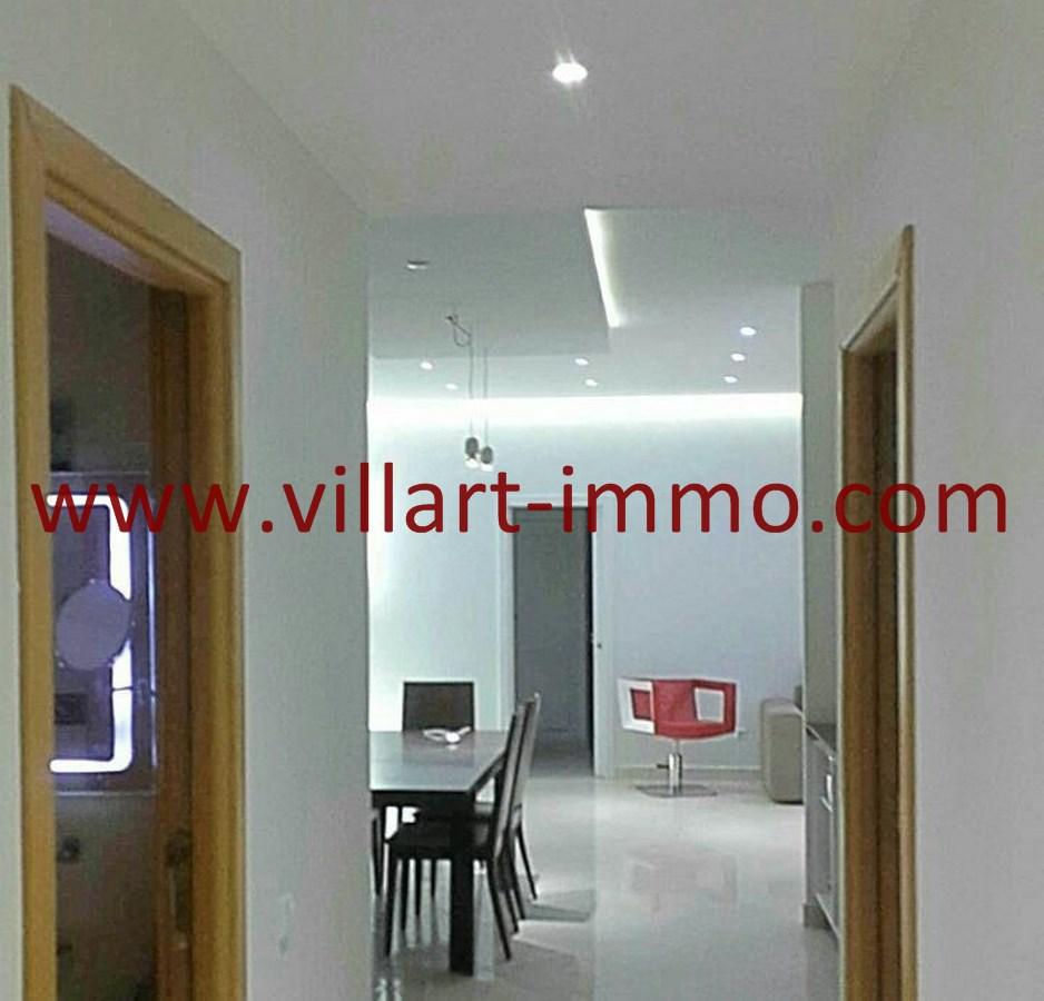 6-Vente-Appartement-Tanger-Malabata-Couloir-VA489-Villart Immo