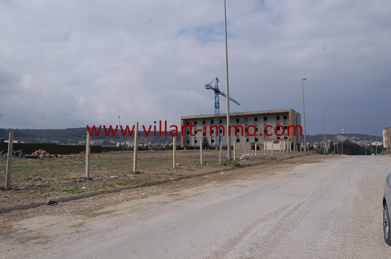 6-Vente-Terrain-Tanger-Gzenaya-VT27-Villart Immo