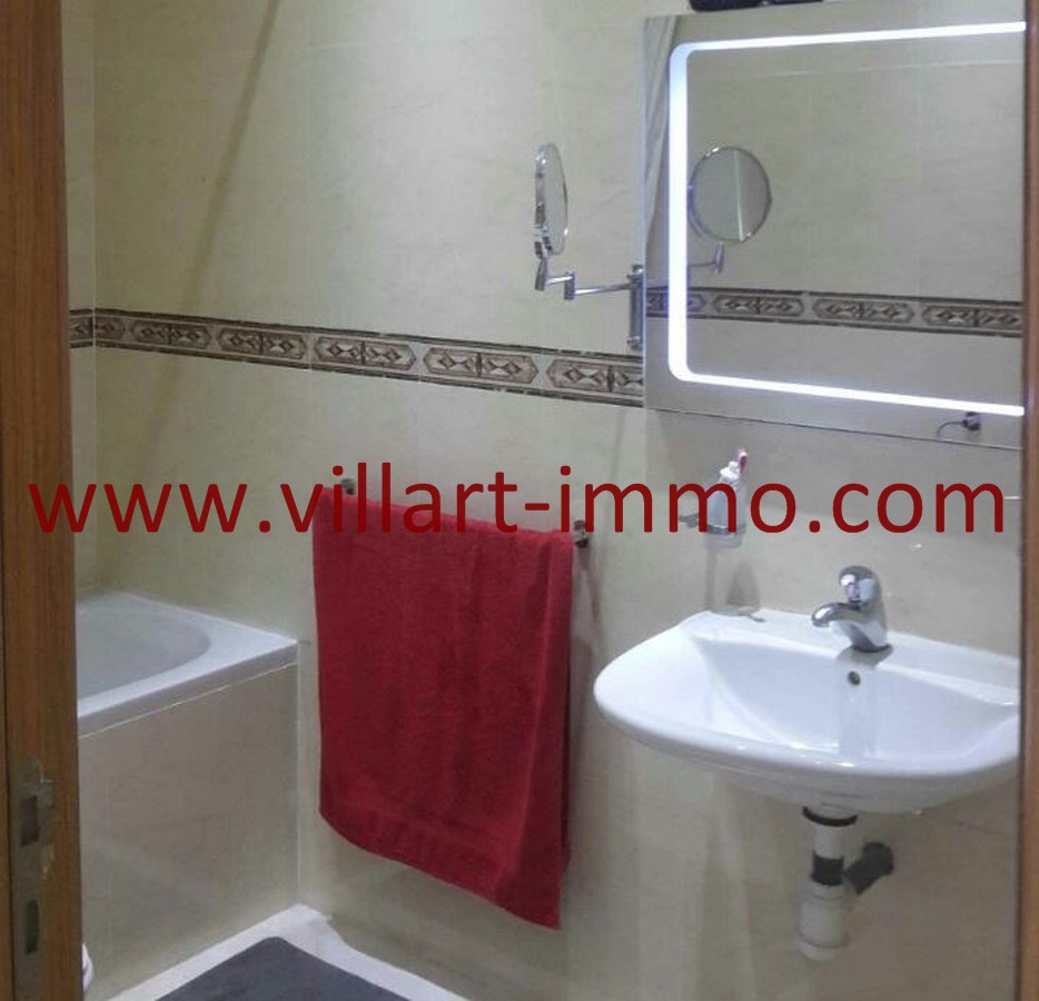 7-Vente-Appartement-Tanger-Malabata-Salle de bain-VA489-Villart Immo