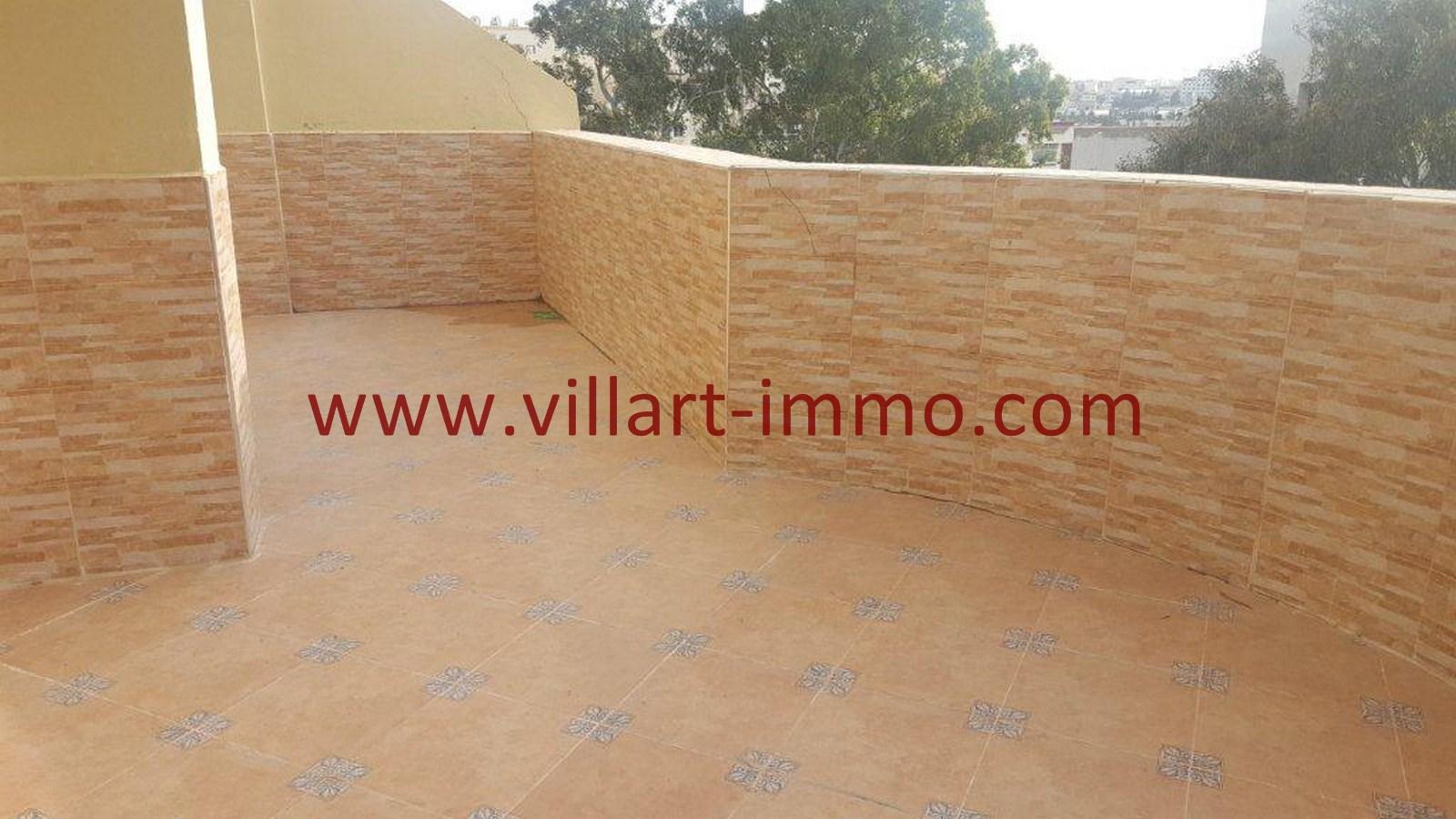 7-Vente-Appartement-Tanger-Val fleuri -Terrasse -VA484-Villart Immo