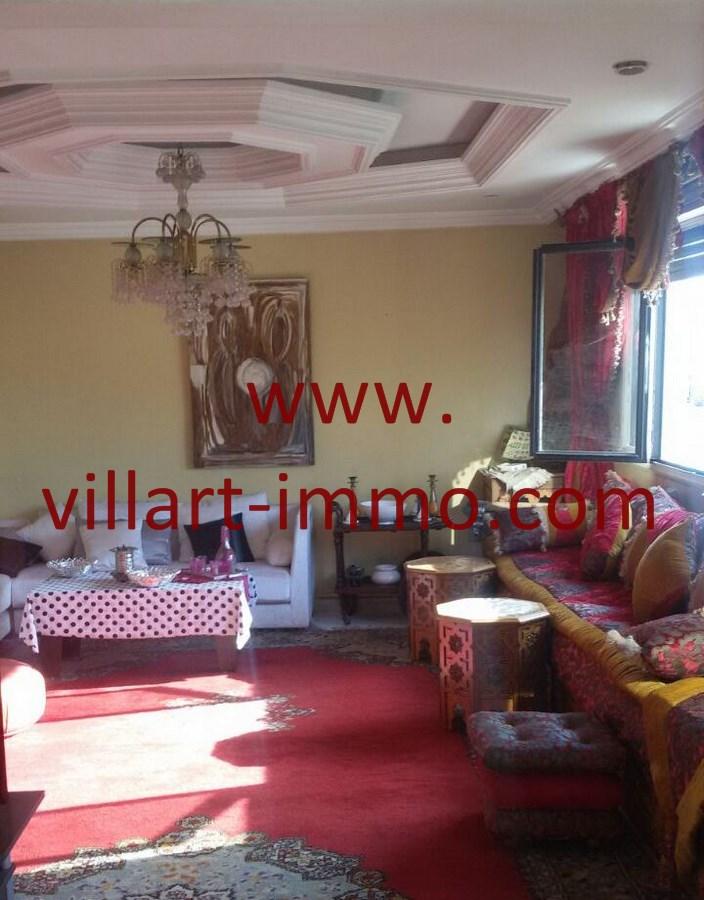1-Vente-Duplex-Tanger-Nejma-Salon 1-VA498-Villart Immo