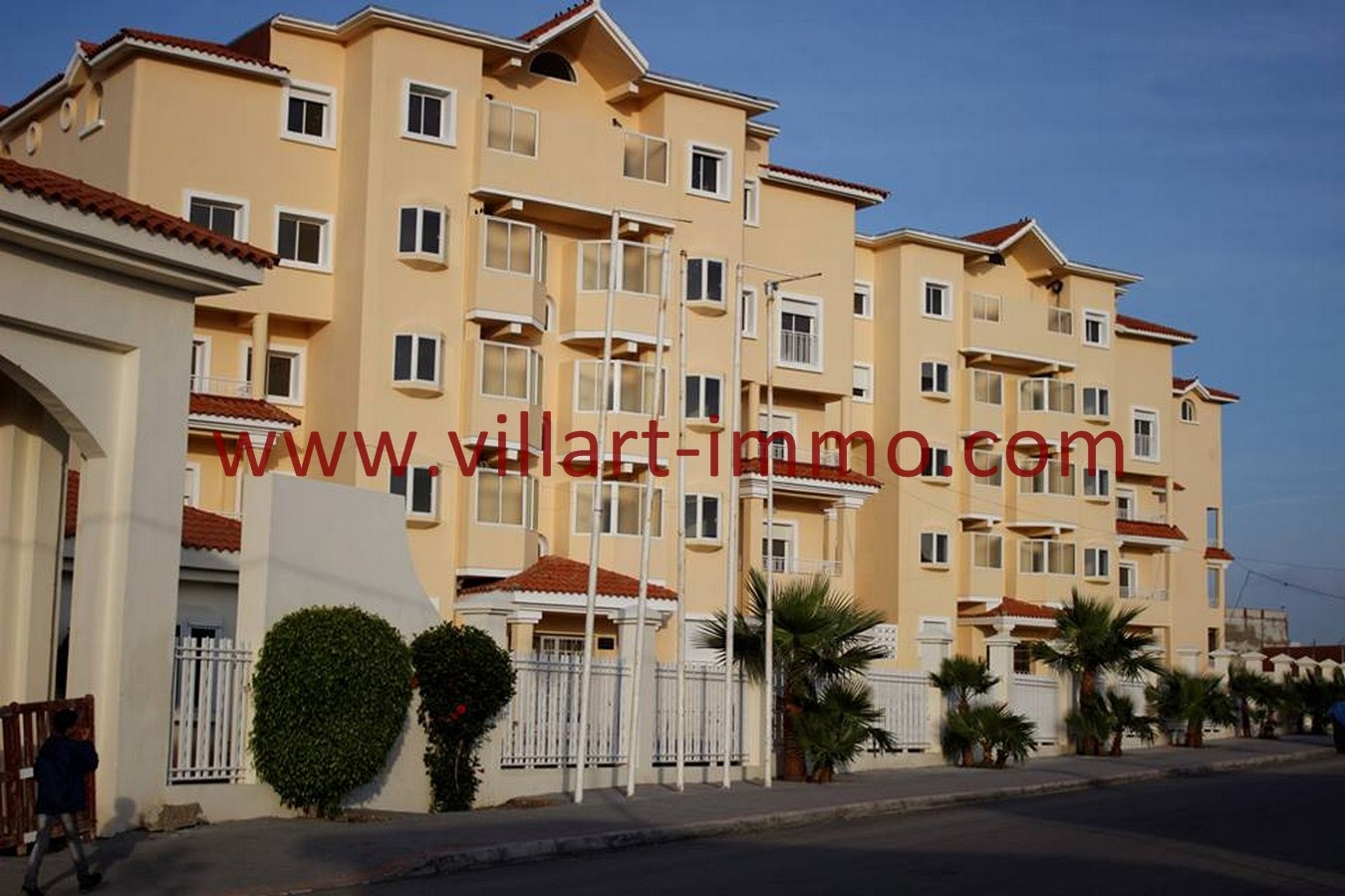 1-Vente-Projet Raiso-Tanger-Autres -Façade 1-Villart Immo