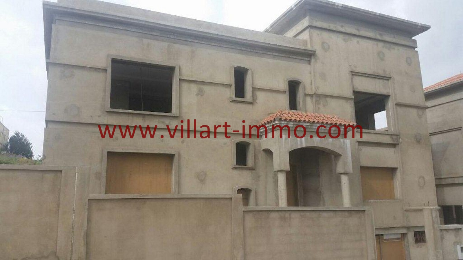 1-Vente-Villa-Tanger-Moujahidin-Façade-VV495-Villart Immo