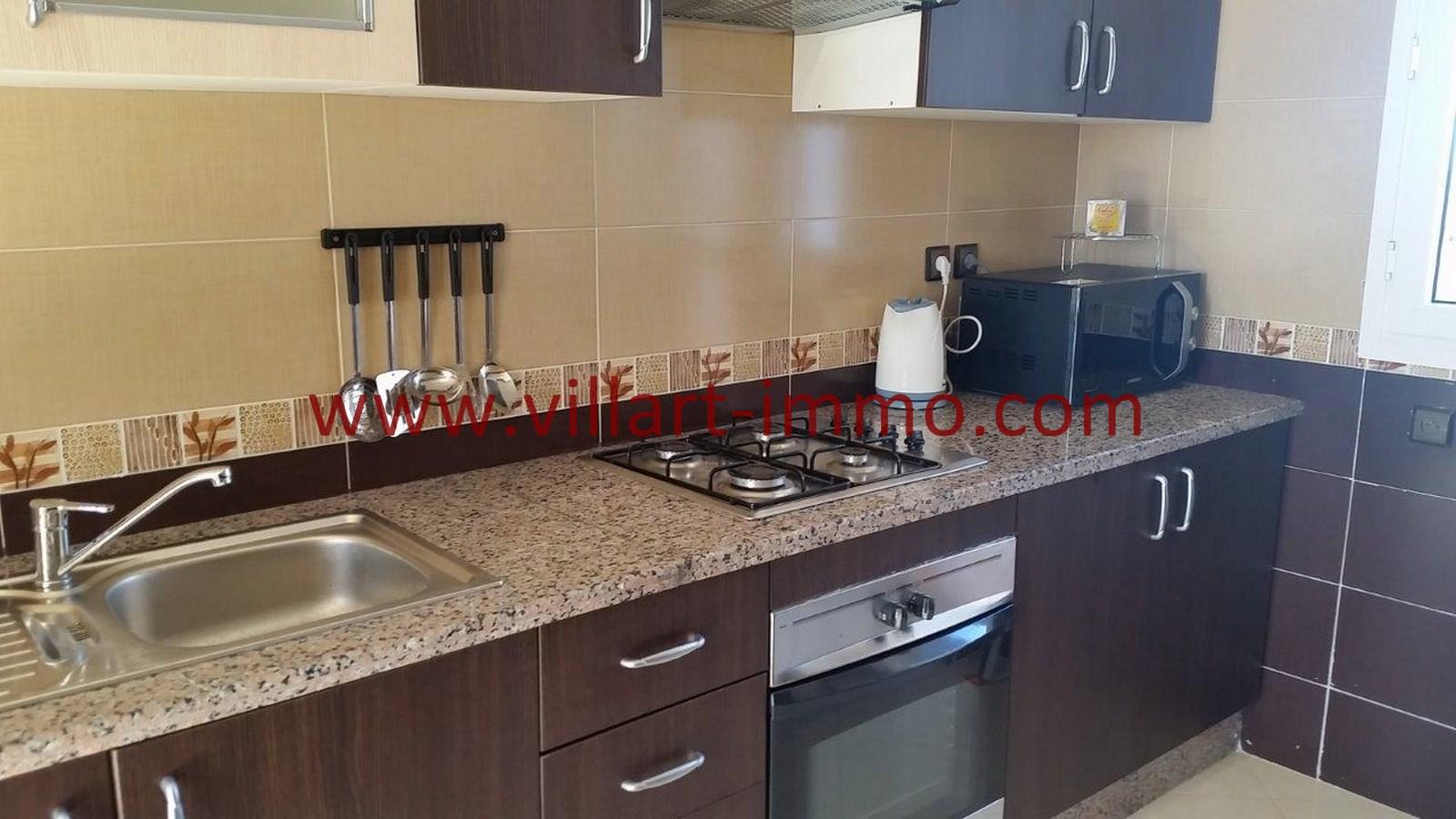 10-Location-Appartement-Meublé-Achakar-Tanger-Cuisine'-L831-Villart immo