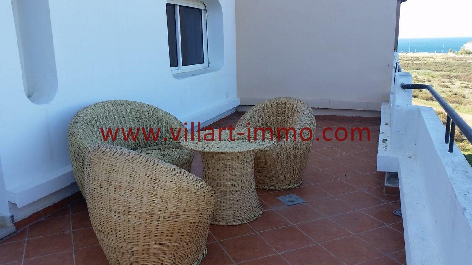 Location appartement meubl tanger avec terrasse zone for Location appartement avec terrasse