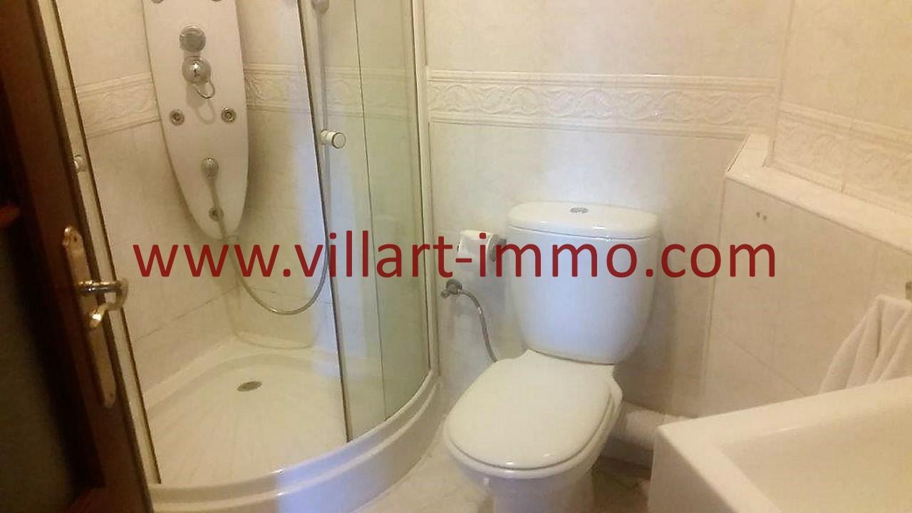 12-A louer-Tanger-Appartement-Meublé-Iberia-Salle de bain 2-L1039