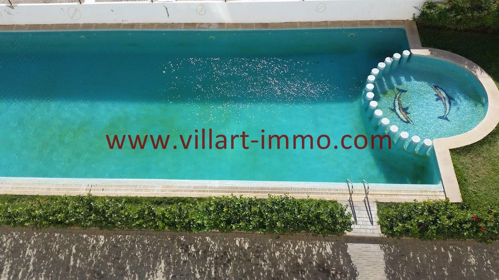 12-Location-Appartement-Meublé-Achakar-Tanger-Piscine-L831-Villart immo
