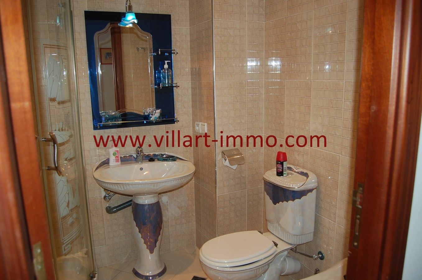 12-Vente-Appartement-Tanger-Route de Rabat-Salle de Bain-VA494-Villart Immo