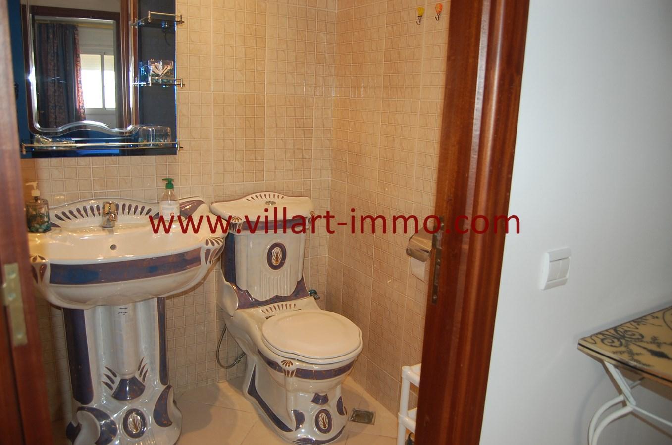 13-Vente-Appartement-Tanger-Route de Rabat-Toilette-VA494-Villart Immo