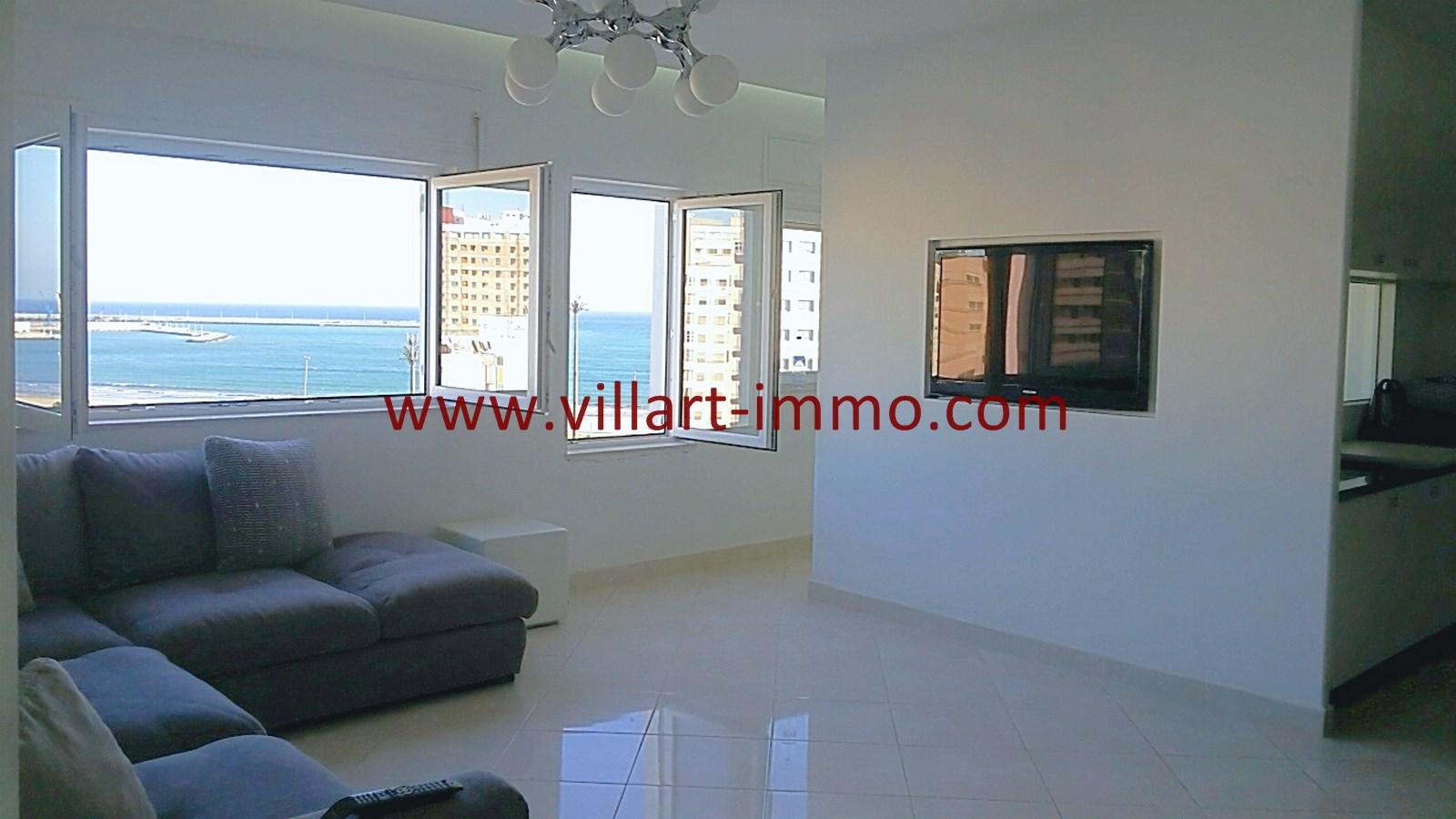 2-Vente-Appartement-Tanger-Malabata-Salon 1-VA490-Villart Immo (Copier)