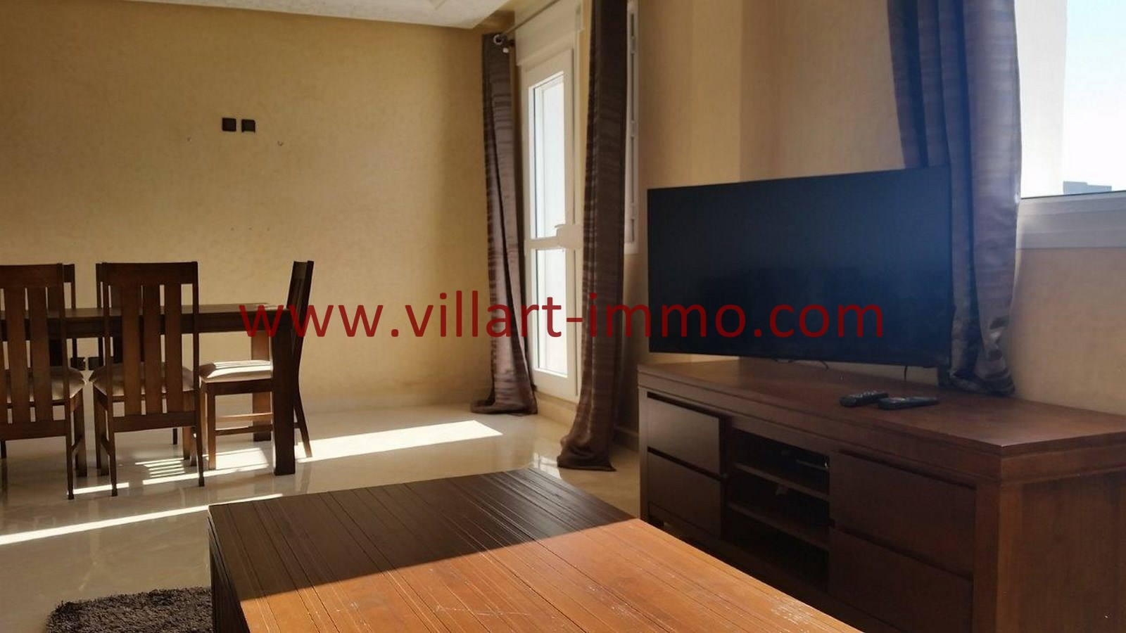3-Location-Appartement-Meublé-Achakar-Tanger-Salon'-L831-Villart immo