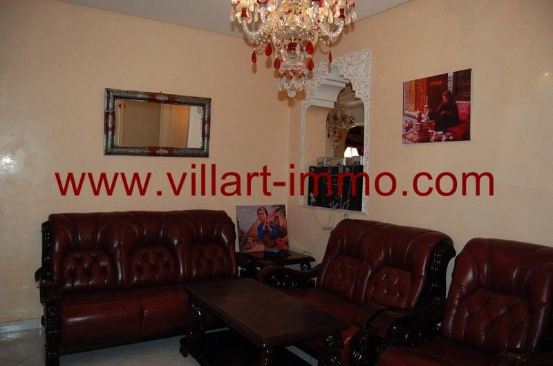 3-Location-Appartement-meublé-Tanger-Séjour - L55-Villart-Immo
