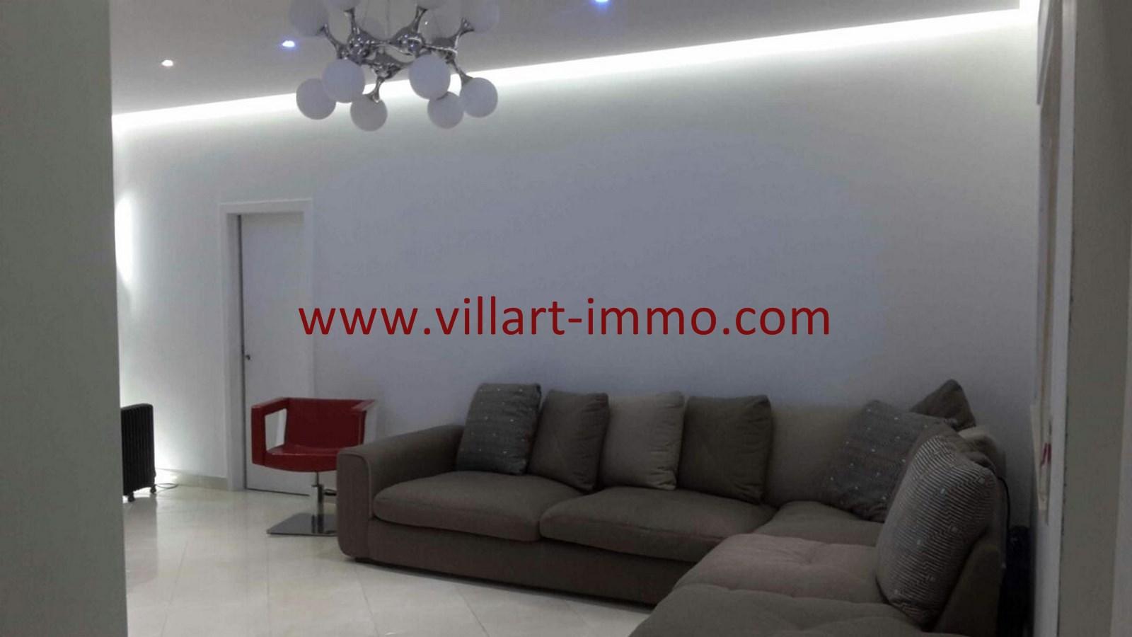 3-Vente-Appartement-Tanger-Malabata-Salon 2-VA490-Villart Immo (Copier)