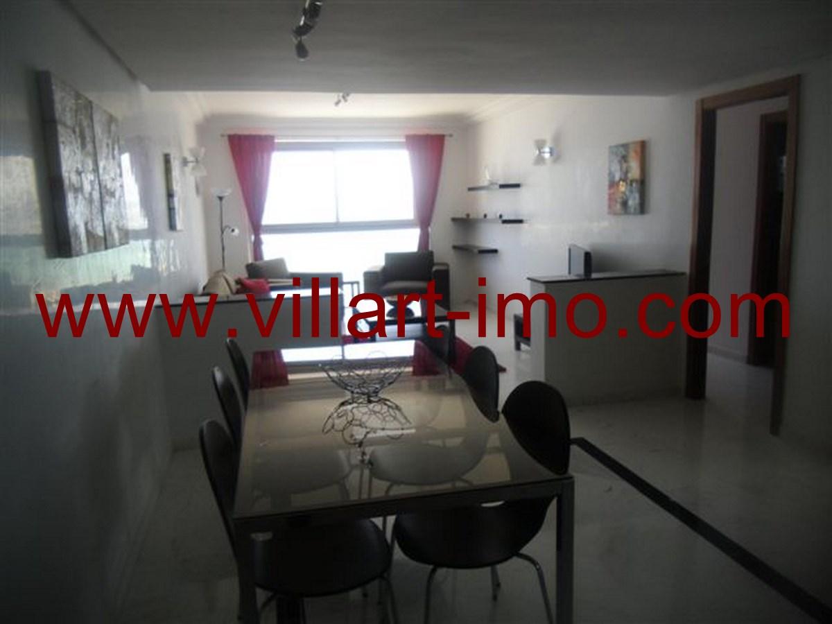 4-Appart-Meublé-Salle à manger-Tanger-Agence immobilière-Villartimmo