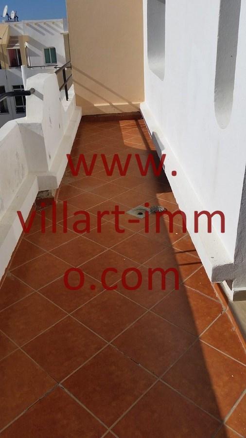 Location Appartement Meubl  Tanger Avec Terrasse Zone Achakar