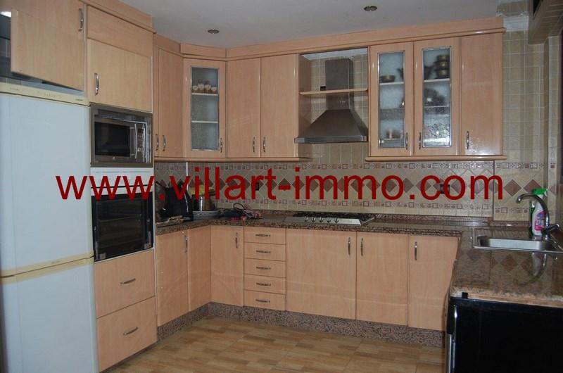4-Location-Appartement-meublé-Tanger-Cuisine - L55-Villart-Immo