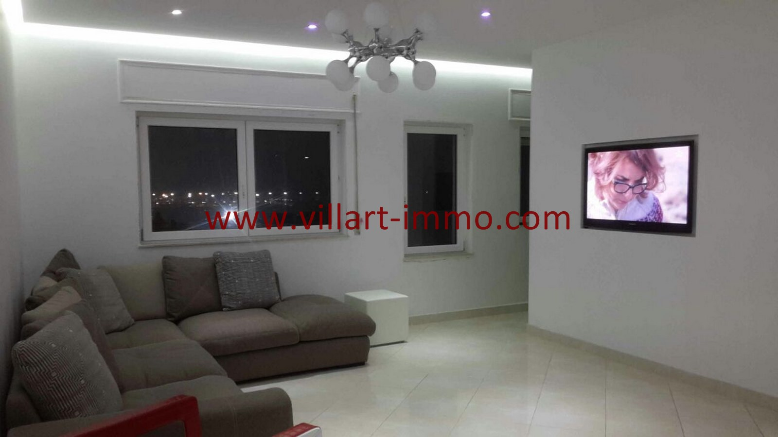 4-Vente-Appartement-Tanger-Malabata-Salon 3-VA490-Villart Immo (Copier)
