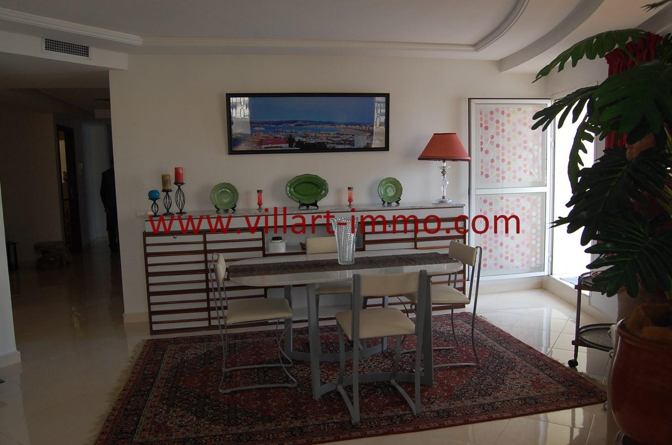 4-Vente-Appartement-Tanger-Route de Rabat-Séjour-VA494-Villart Immo