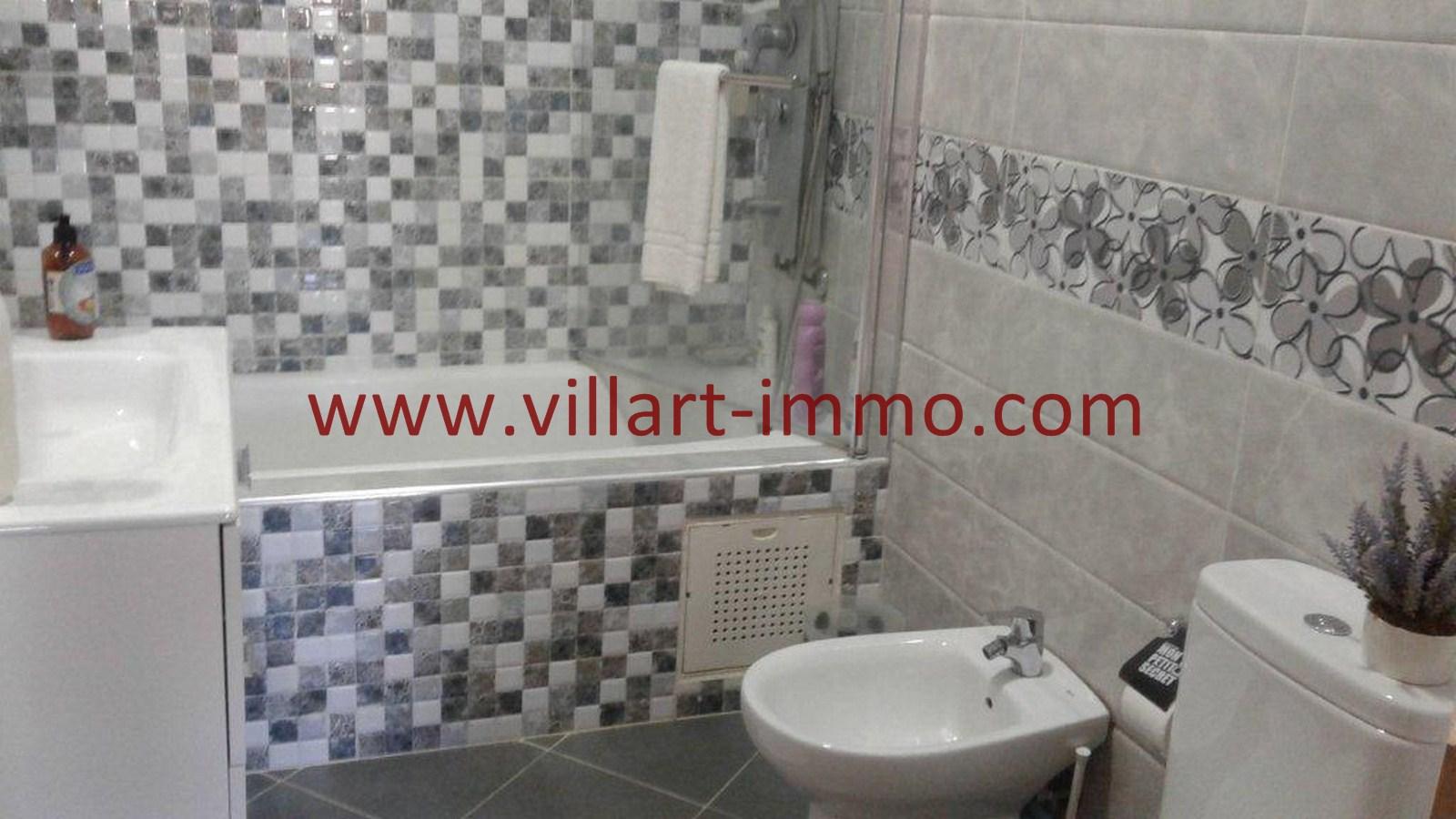 5-A louer-Appartement-Tanger-Castilla-Salle-De-Bain-L1040-Villart immo-Agence Immobilière