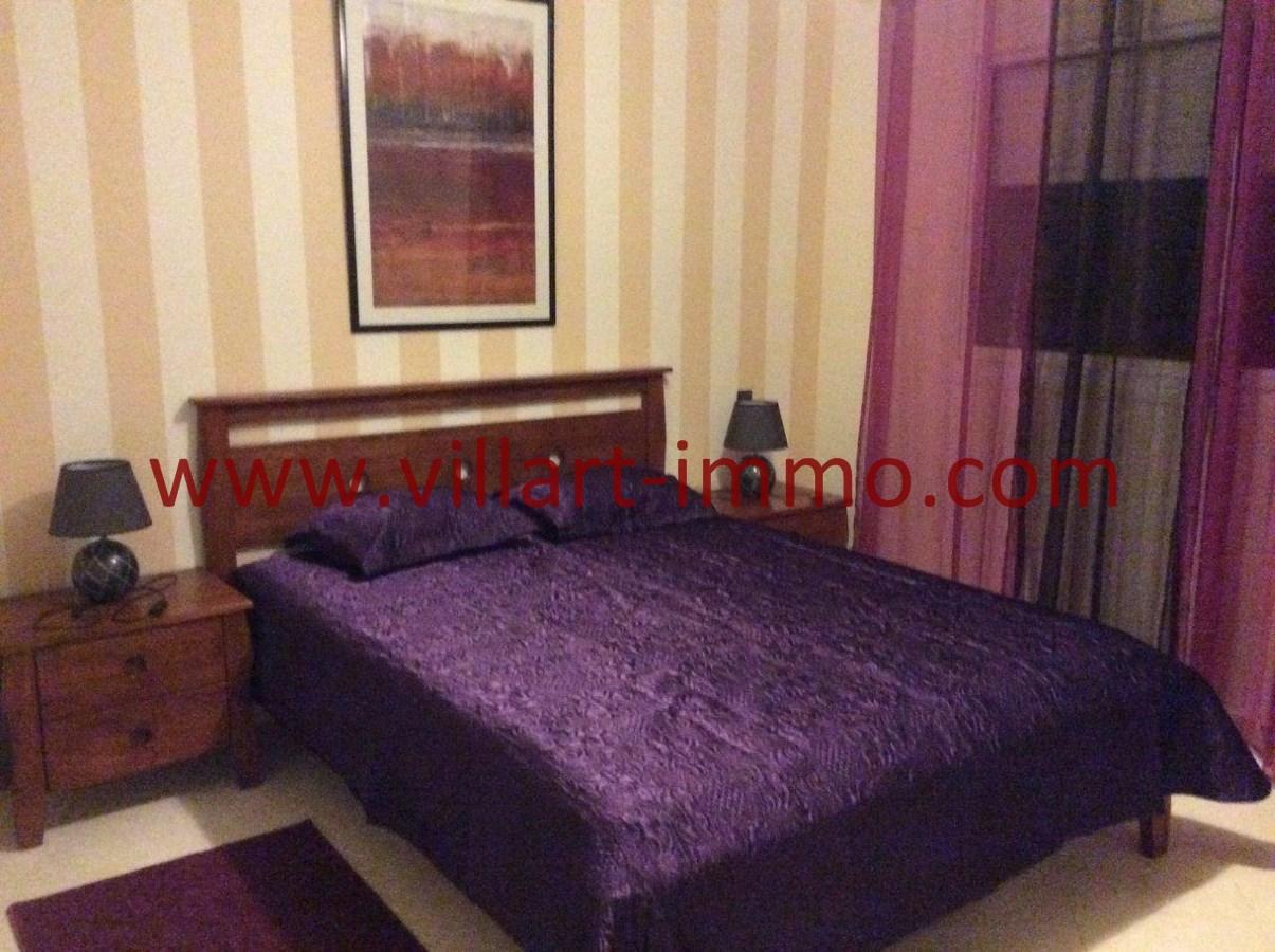 5-Location-Appartement-Meublé-Achakar-Tanger-Chambre 1-L831-Villart immo