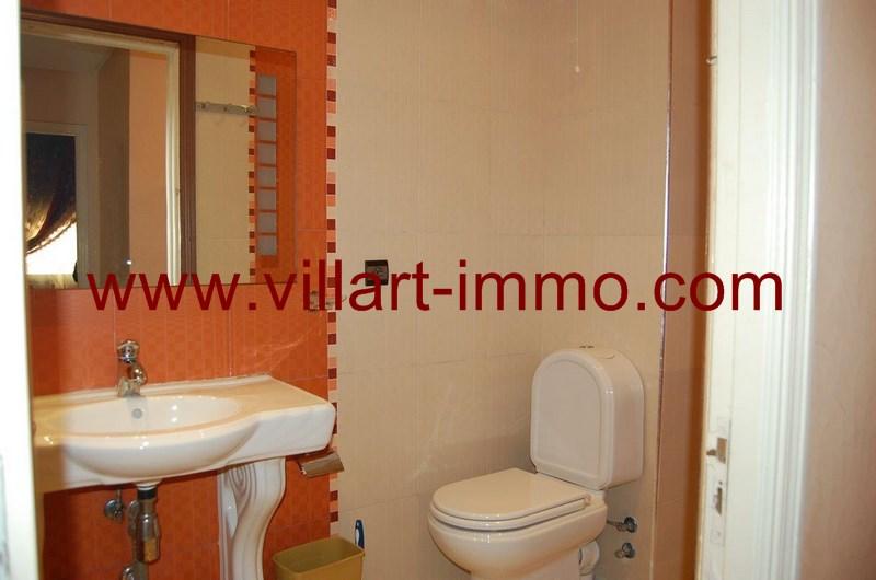5-Location-Appartement-meublé-Tanger-Salle de bain 1 - L55-Villart-Immo