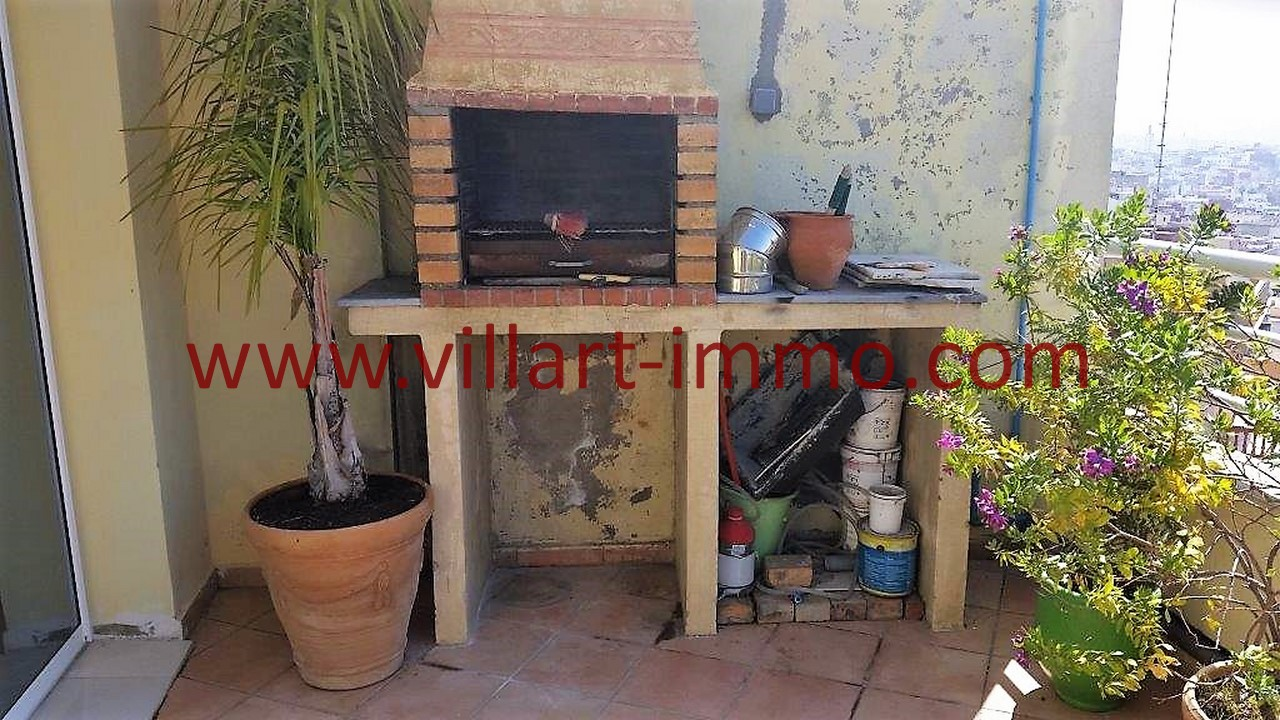 6-A louer-Tanger-Appartement-Meublé-Iberia-barbecue-L1039