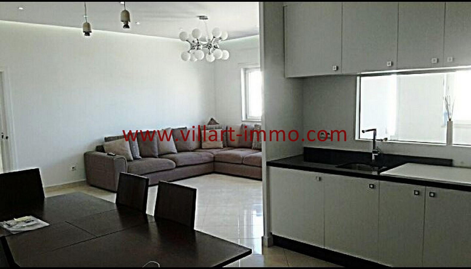 6-Vente-Appartement-Tanger-Malabata-Cuisine 1-VA490-Villart Immo (Copier)