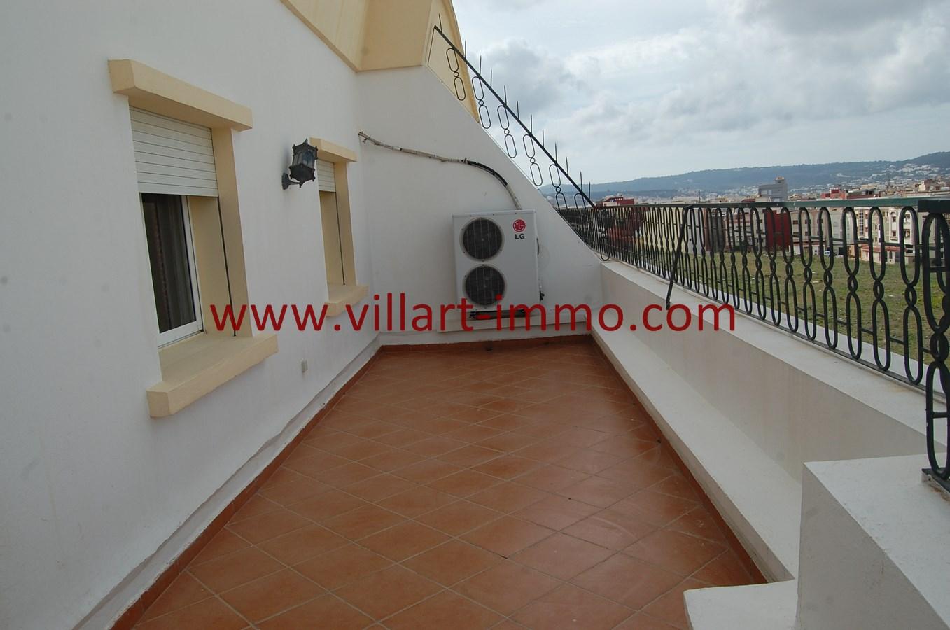 6-Vente-Appartement-Tanger-Route de Rabat-Terrasse 2-VA494-Villart Immo