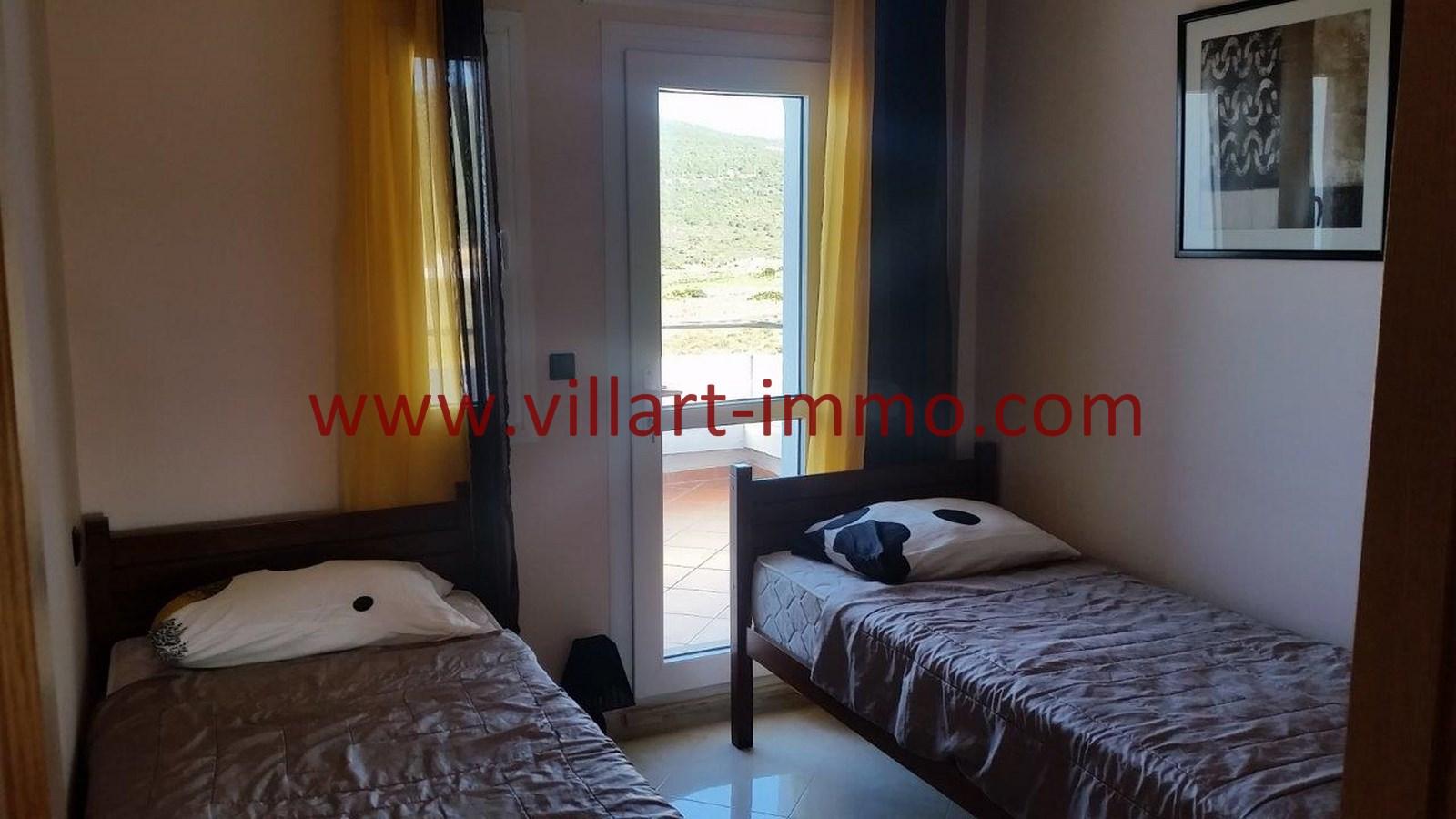 7-Location-Appartement-Meublé-Achakar-Tanger-Chambre 2-L831-Villart immo