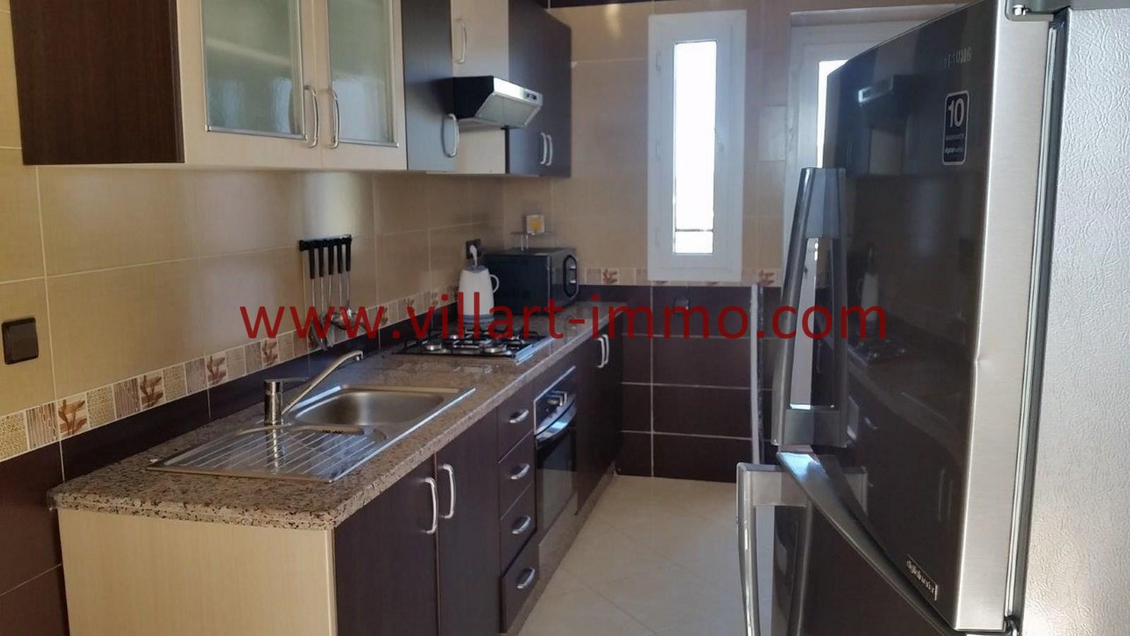 9-Location-Appartement-Meublé-Achakar-Tanger-Cuisine-L831-Villart immo