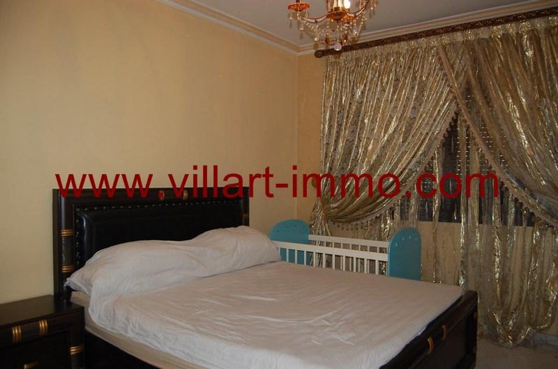 9-Location-Appartement-meublé-Tanger-Chambre 3 - L55-Villart-Immo