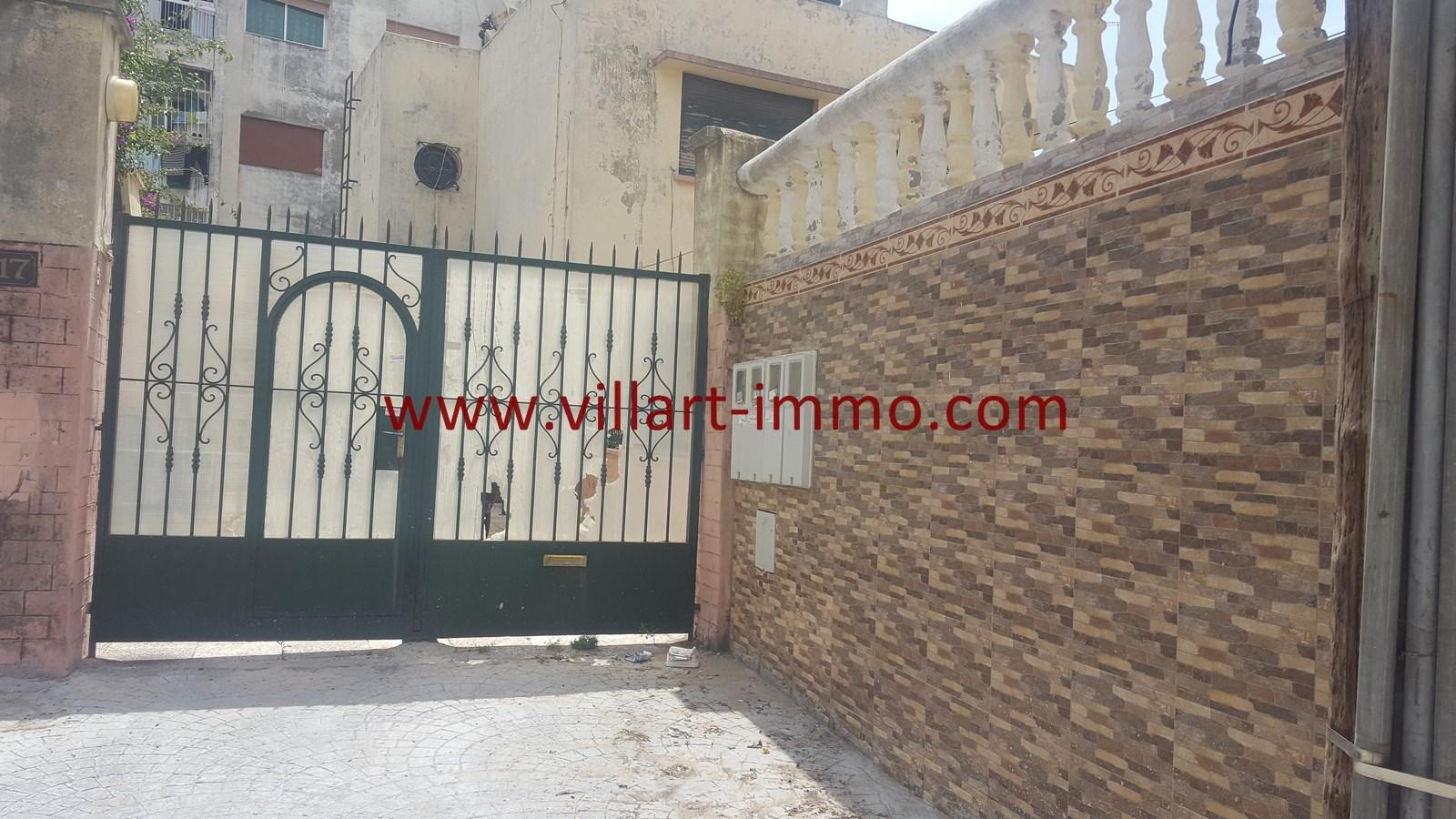 1-Vente-Maison-Tanger-Centre Ville-Entrée-VM499-Villart Immo