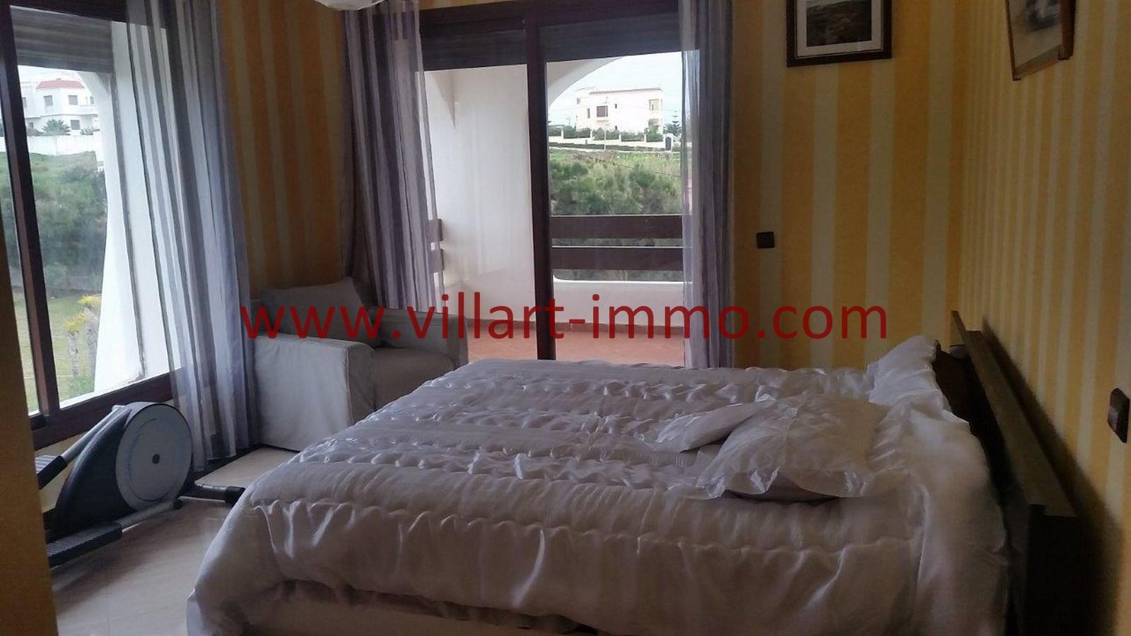 11-A louer-Villa-Meublée-Tanger-Achakar-Chambre 2-LSAT914-Villart immo