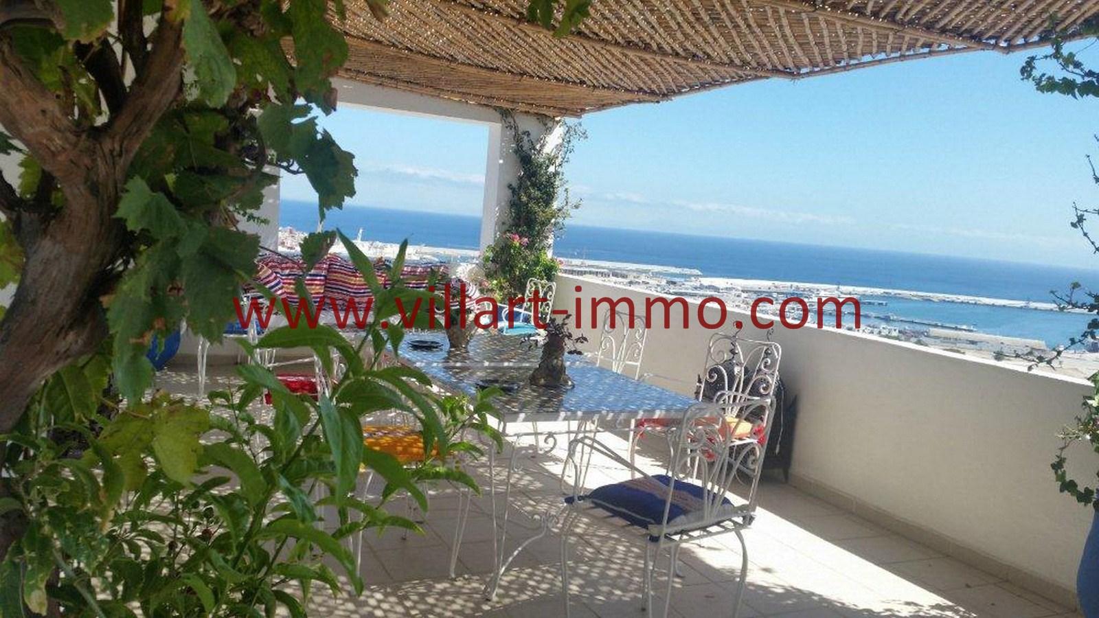 2-Vente-Appartement-Tanger-Centre-De-Ville-Terrasse 2-VA502-Villart Immo