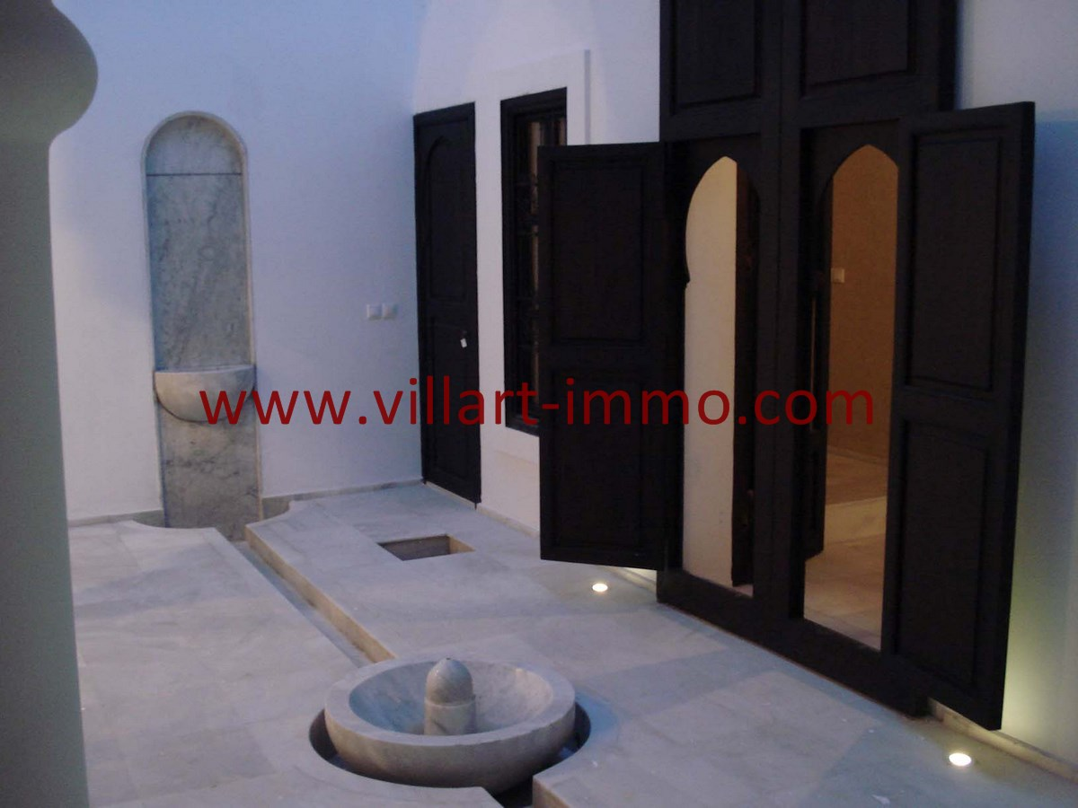 2-Vente-Riad-Assilah-Médina-Hall 1-VR501-Villart Immo