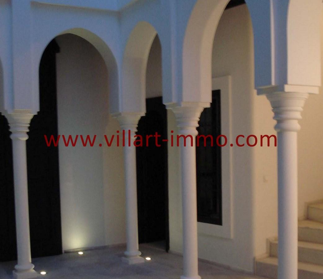 3-Vente-Riad-Assilah-Médina-Escaliers-VR501-Villart Immo