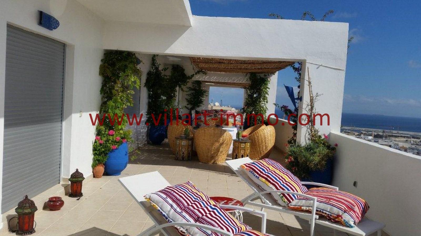 4-Vente-Appartement-Tanger-Centre-De-Ville-Terrasse 4-VA502-Villart Immo