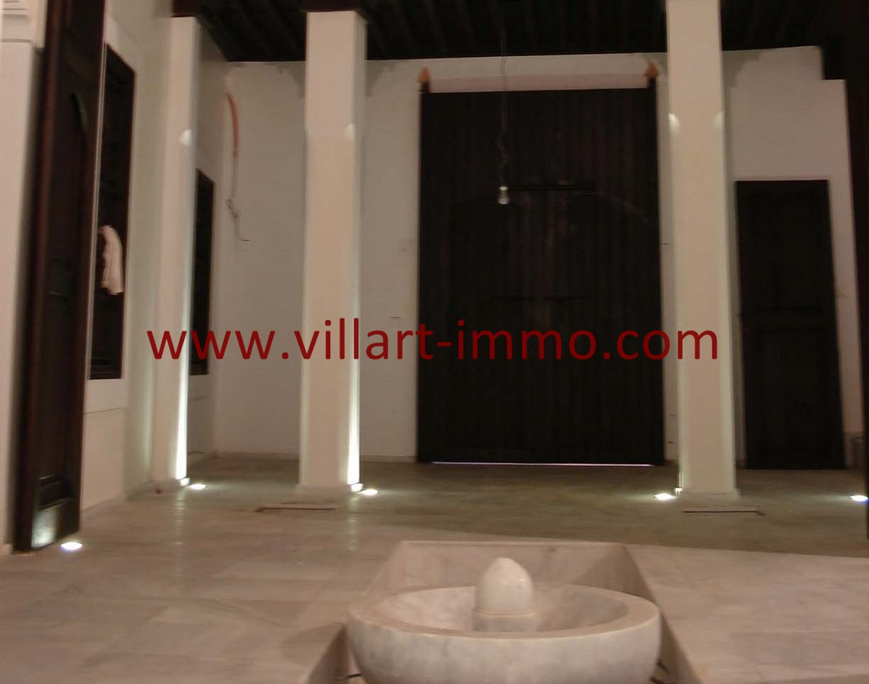 4-Vente-Riad-Assilah-Médina-Hall 2-VR501-Villart Immo