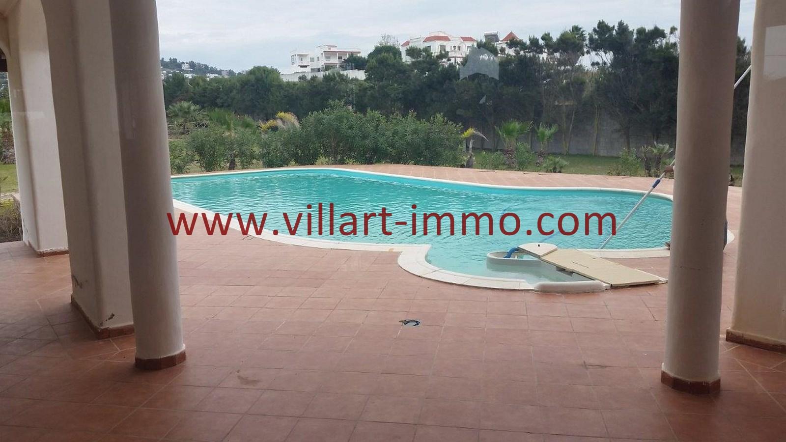 6-A louer-Villa-Meublée-Tanger-Achakar-Piscine-LSAT914-Villart immo