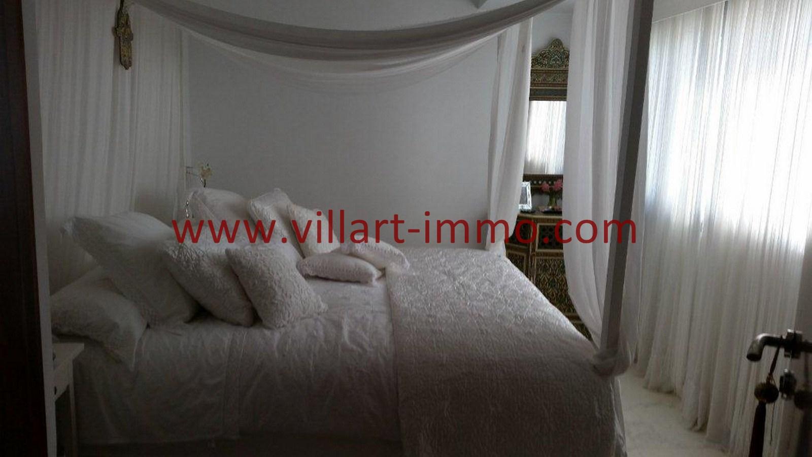 6-Vente-Appartement-Tanger-Centre-De-Ville-Chambre à Coucher -VA502-Villart Immo