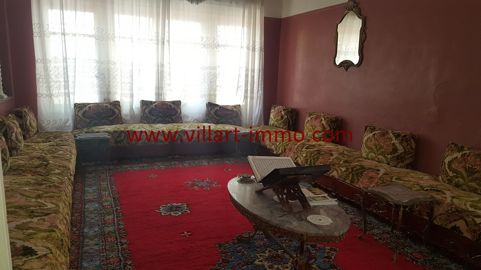 6-Vente-Maison-Tanger-Centre Ville-Salon-VM499-Villart Immo