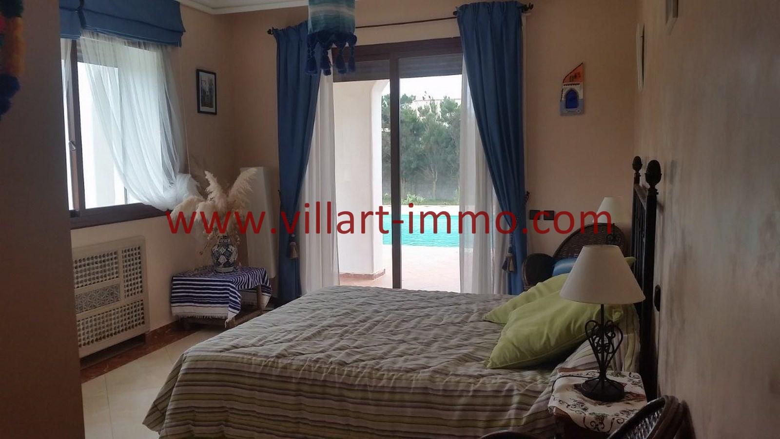 8-A louer-Villa-Meublée-Tanger-Achakar-Chambre 1-LSAT914-Villart immo