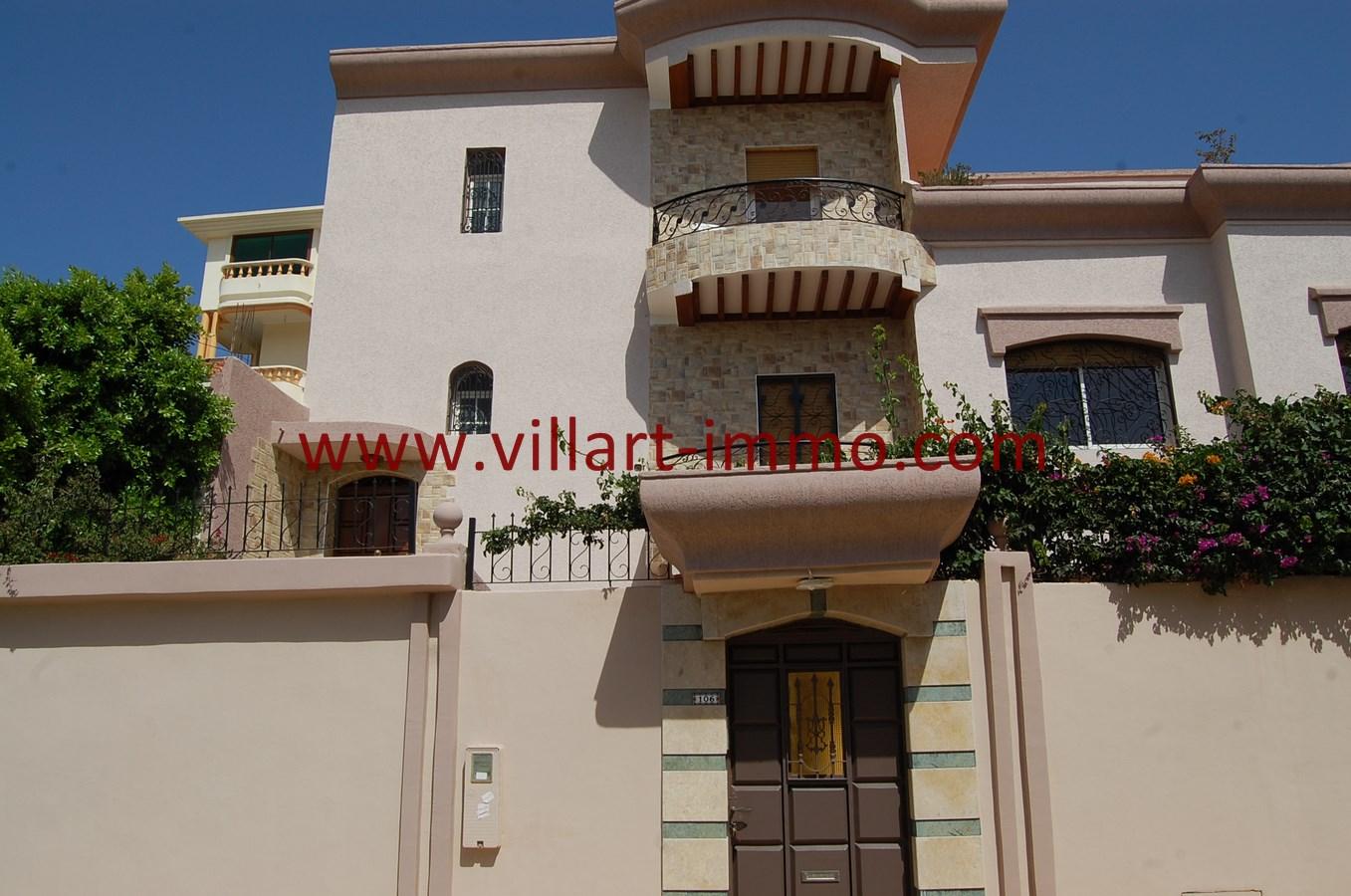 1-Vente-Villa-Tanger-Mojahidin-Façade-VV503-Villart Immo