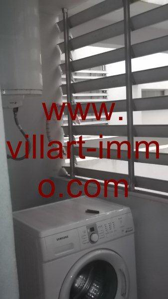 10-Location-Appartement-Meublé-Centre ville-Tanger-Machine à laver-L951-Villart immo