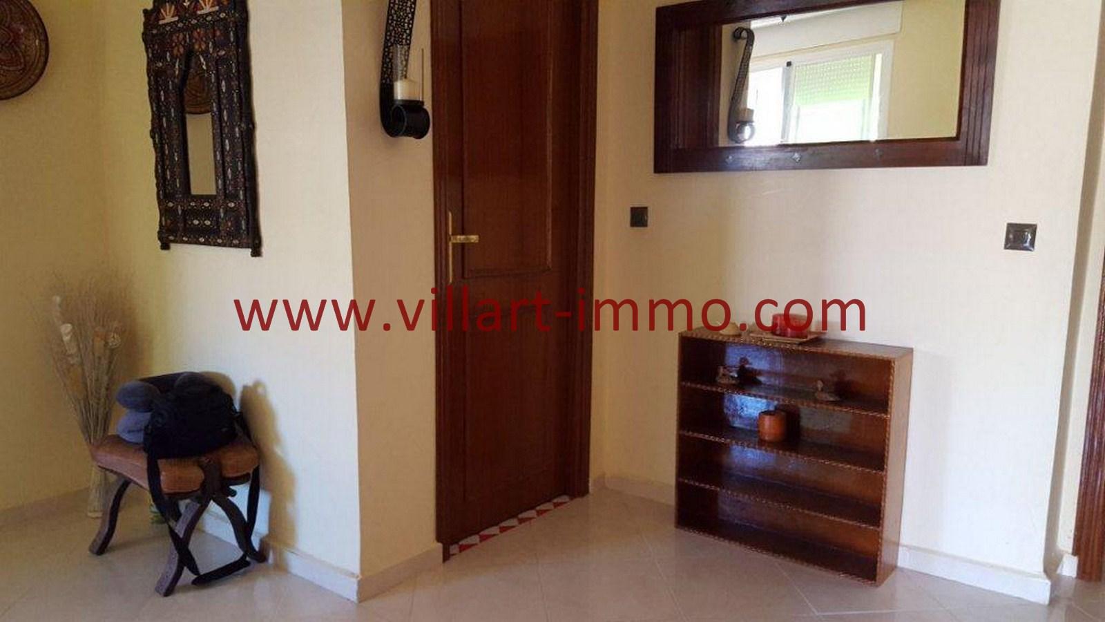 2-Vente-Appartement-Tanger-Entrée -VA509-Villart Immo