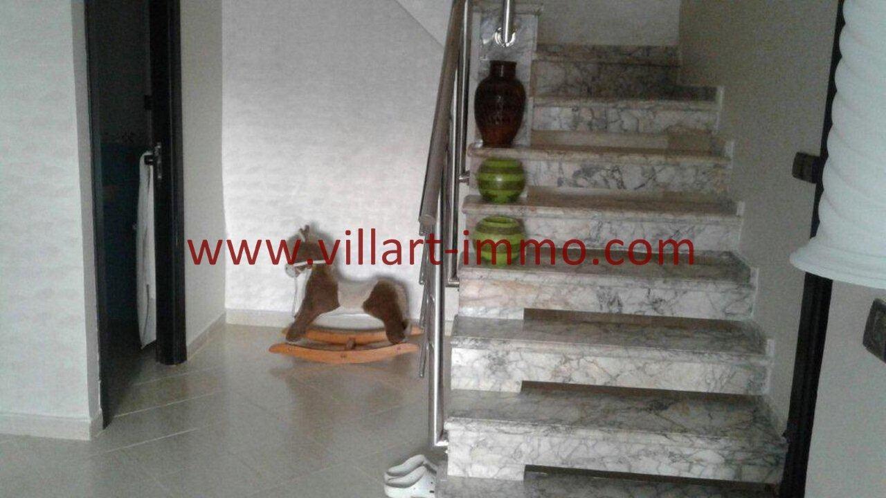 2-Vente-Duplex-Tanger-Route Rabat -Salon 2-VA510-Villart Immo