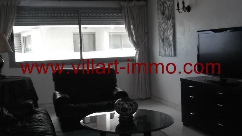 3-Location-Appartement-Meublé-Centre ville-Tanger-Salon 3-L951-Villart immo