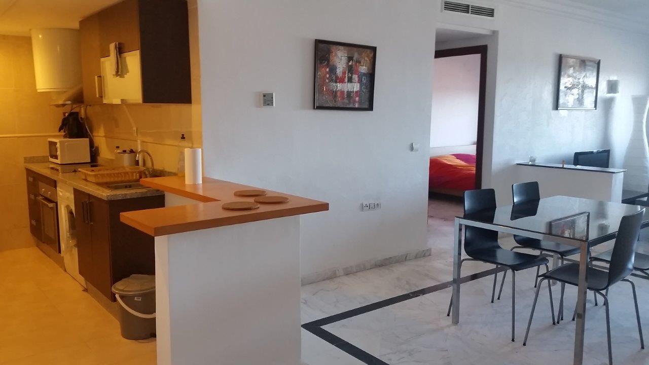 3-Vente-Appartement-Tanger-Centre-De-Ville-Cuisine-F2-Villart Immo