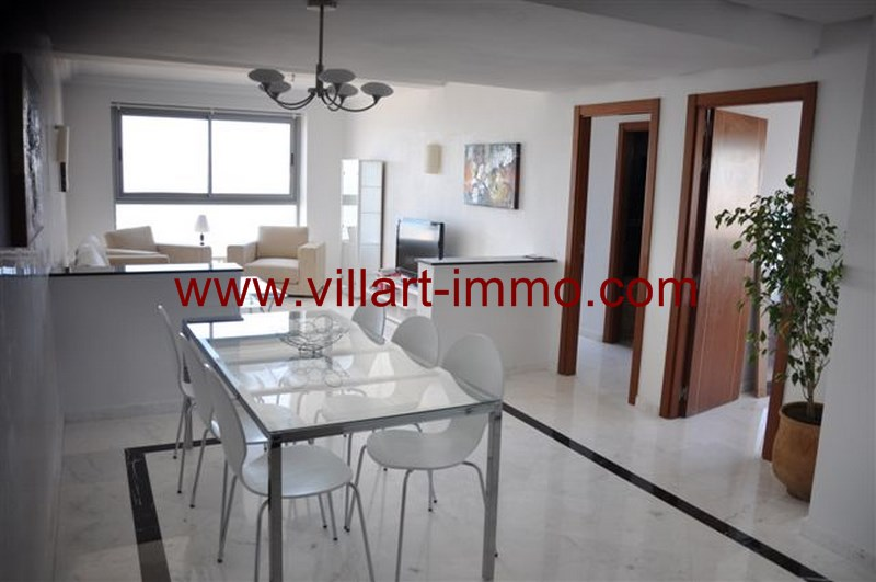 3-Vente-Appartement-Tanger-Centre-De-Ville-Salle à manger-Villart Immo